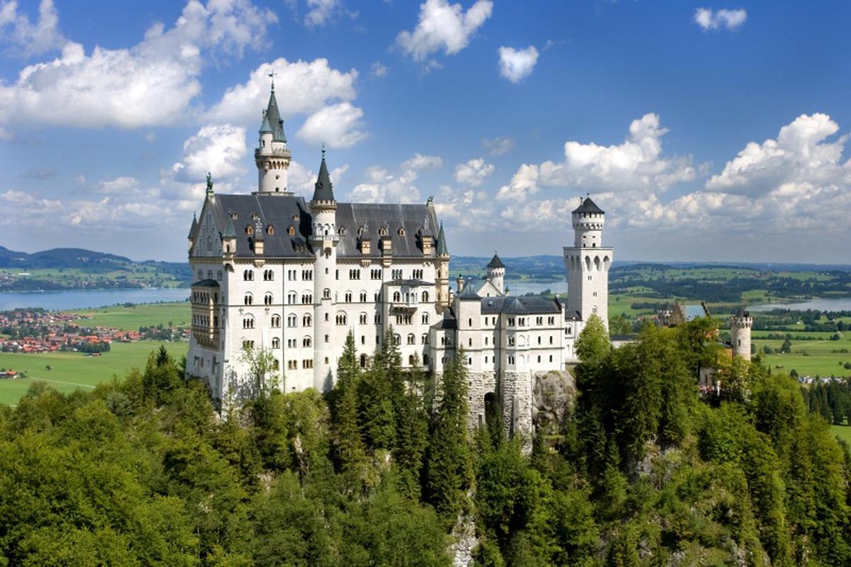 desyat samyh poseshaemyh mest v germanii Десять самых посещаемых мест в Германии