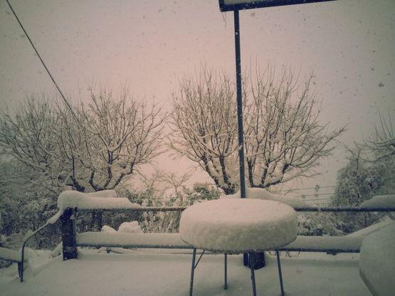 evropu nakrylo snegom Европу накрыло снегом