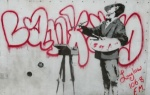 graffiti benksi v londone kratkii putevoditel 9 Граффити Бэнкси в Лондоне: краткий путеводитель