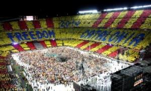kataloniya otmechaet nacionalnyi prazdnik Каталония отмечает национальный праздник