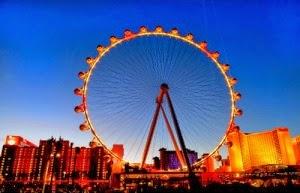 krupneishee koleso obozreniya otkrylos v las vegase Крупнейшее колесо обозрения открылось в Лас Вегасе