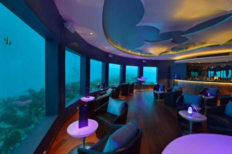 na maldivah otkrylsya pervyi v mire klub pod vodoi На Мальдивах открылся первый в мире клуб под водой