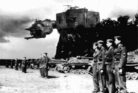 neveroyatnye voennye izobreteniya nacistov i ih soyuznikov Невероятные военные изобретения нацистов и их союзников