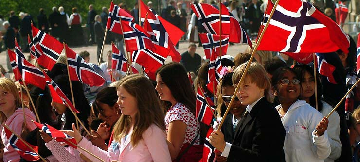 Норвегия организует празднование Дня Конституции в Санкт Петербурге