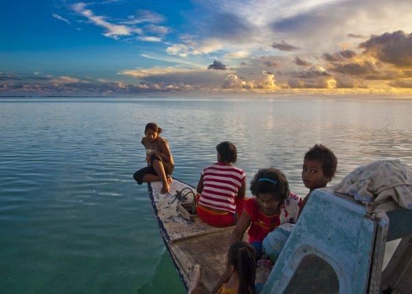 novyi god na kiribati pervyi voshod solnca Новый год на Кирибати: первый восход солнца