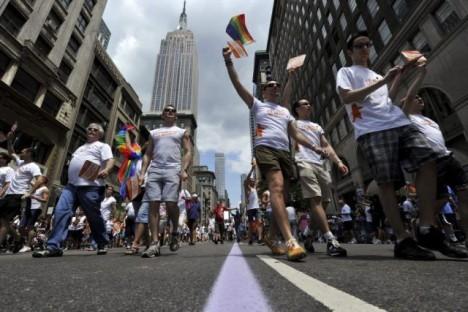 nyu iork gotovitsya k nedele lgbt sobytii Нью Йорк готовится к неделе ЛГБТ событий