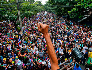 oppoziciya tailanda nachinaet «zakryvat bangkok» Оппозиция Таиланда начинает «закрывать Бангкок»