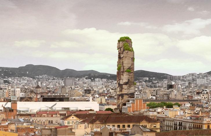otel skala v barselone – mechta ekstremala Отель скала в Барселоне – мечта экстремала