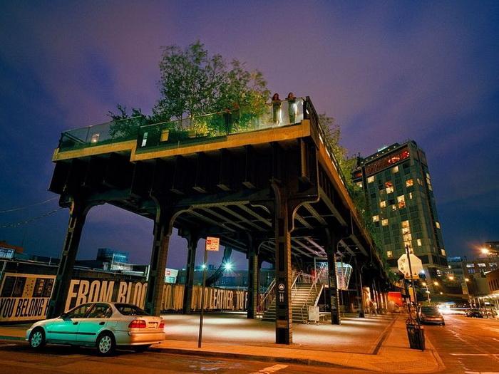 park hai lain – udivitelnaya dostoprimechatelnost manhettena Парк Хай Лайн – удивительная достопримечательность Манхэттена