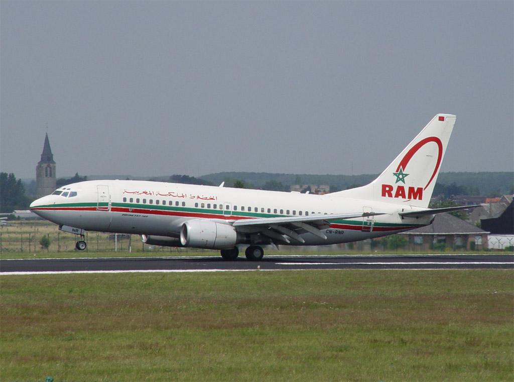 passajiry reisa RAM ostalis stoyat vo vremya posadki Пассажиры рейса RAM остались стоять во время посадки
