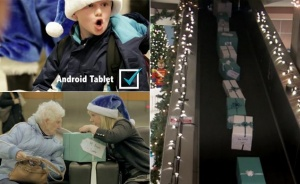 passajiry reisa Wesjet poluchili vmesto bagaja podarki ot santa klausa Пассажиры рейса Wesjet получили вместо багажа подарки от Санта Клауса