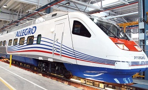 poezd Allegro bet vse rekordy po passajiropotoku Поезд Allegro бьет все рекорды по пассажиропотоку