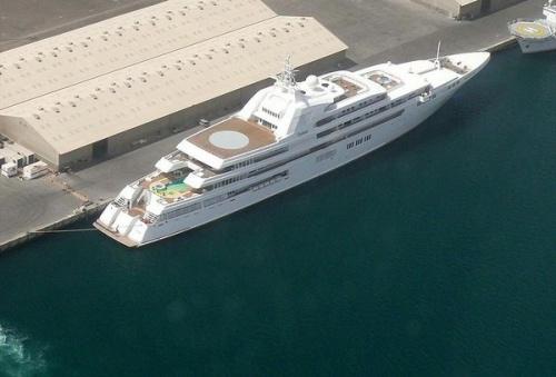 reiting samyh dlinnyh yaht v mire 3 Рейтинг самых длинных яхт в мире