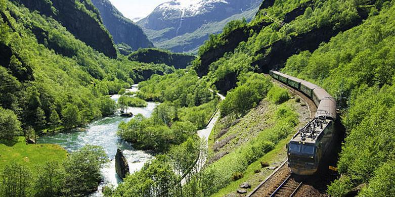 samye jivopisnye puteshestviya na poezde — v norvegii Самые живописные путешествия на поезде — в Норвегии