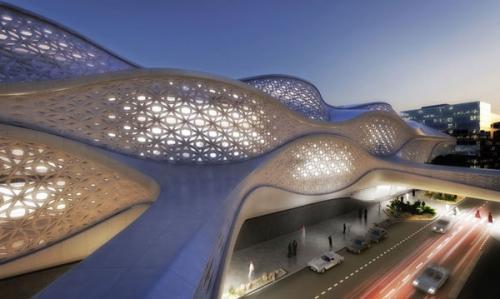 saudovskaya araviya predstavila futuristicheskii proekt budushego metro 2 Саудовская Аравия представила футуристический проект будущего метро