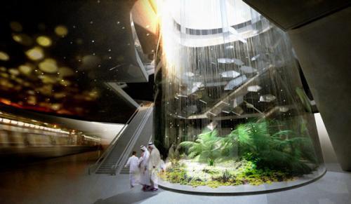 saudovskaya araviya predstavila futuristicheskii proekt budushego metro 3 Саудовская Аравия представила футуристический проект будущего метро