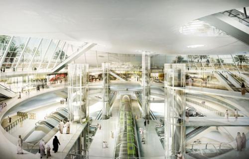 saudovskaya araviya predstavila futuristicheskii proekt budushego metro 5 Саудовская Аравия представила футуристический проект будущего метро