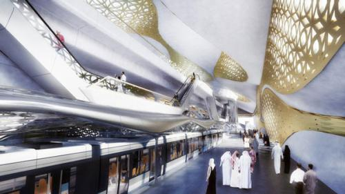 saudovskaya araviya predstavila futuristicheskii proekt budushego metro Саудовская Аравия представила футуристический проект будущего метро