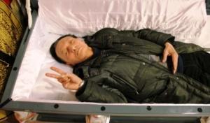 Симулятор смерти: в Китае создан сомнительный аттракцион