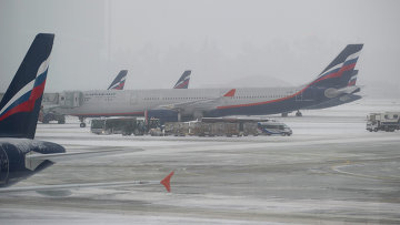 snegopad ne povliyal na rabotu moskovskih aeroportov Снегопад не повлиял на работу московских аэропортов