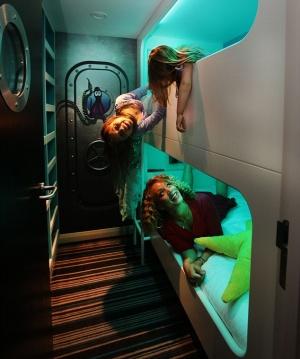 tehnologichnyi otel «volna» v morskom stile Технологичный отель «Волна» в морском стиле