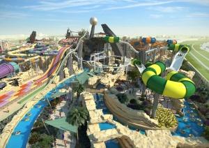 v abu dabi nachal rabotu novyi akvapark Yas Water World В Абу Даби начал работу новый аквапарк Yas Water World