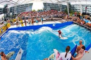 v aeroportu myunhena mojno zanyatsya serfingom В аэропорту Мюнхена можно заняться серфингом