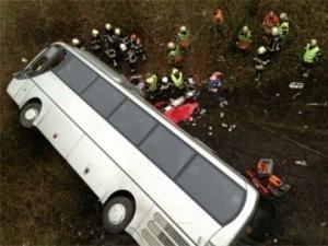 v belgii razbilsya avtobus s rossiiskimi shkolnikami В Бельгии разбился автобус с российскими школьниками