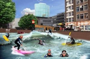 v centre rotterdama skoro mojno budet zanyatsya serfingom В центре Роттердама скоро можно будет заняться серфингом