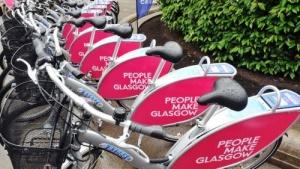 v glazgo poyavilsya prokat velosipedov В Глазго появился прокат велосипедов