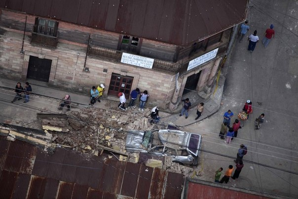 v gvatemale proizoshlo moshneishee zemletryasenie В Гватемале произошло мощнейшее землетрясение