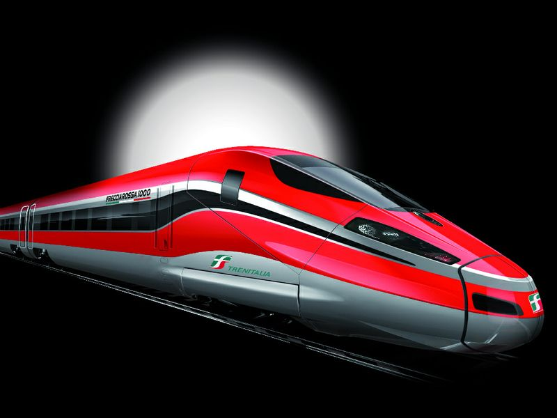 v italii poyavitsya samyi bystryi poezd v evrope В Италии появится самый быстрый поезд в Европе