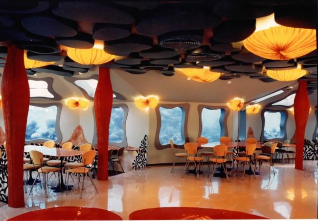 v izraile mojno posetit pervyi v mire podvodnyi restoran В Израиле можно посетить первый в мире подводный ресторан