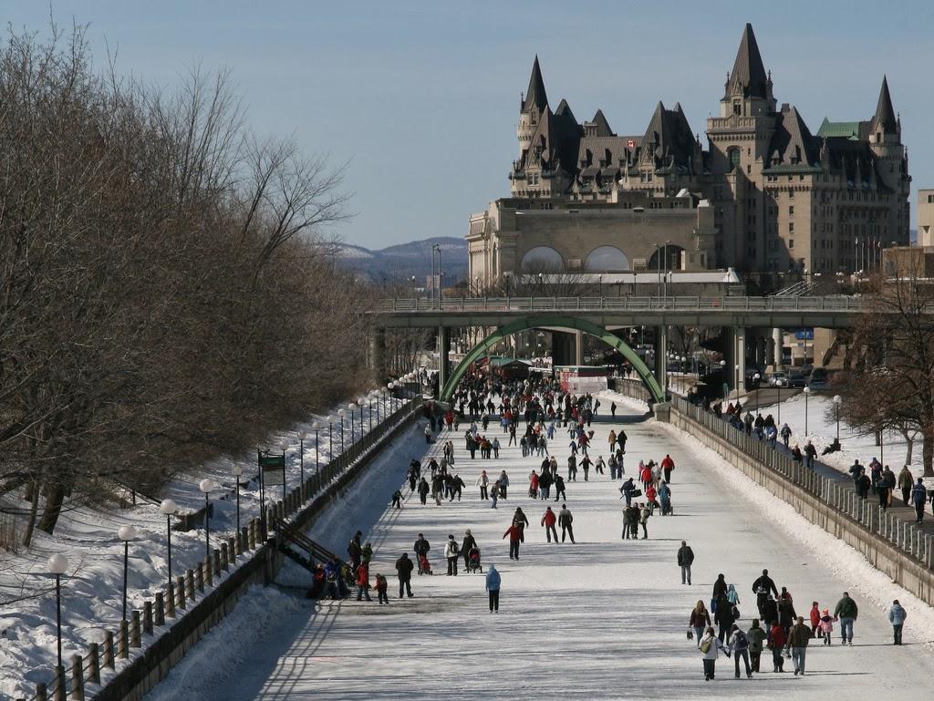v kanade otkrylsya samyi bolshoi v mire katok В Канаде открылся самый большой в мире каток
