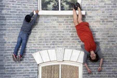 v londone poyavilsya s dom s opticheskim obmanom 2 В Лондоне появился с дом с оптическим обманом