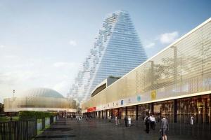 v parije rekonstruiruyut vystavochnyi centr port de versal В Париже реконструируют выставочный центр Порт де Версаль