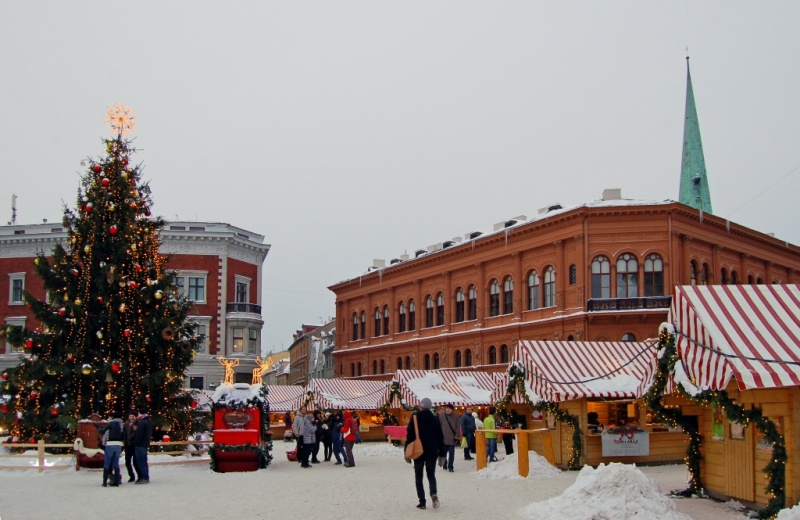 v rige startuyut rojdestvenskie yarmarki В Риге стартуют рождественские ярмарки