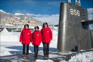 v sankt morice vsplyla podvodnaya lodka В Санкт Морице всплыла подводная лодка