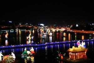 v yujnoi koree startoval prazdnik lotosovyh fonarei В Южной Корее стартовал праздник лотосовых фонарей