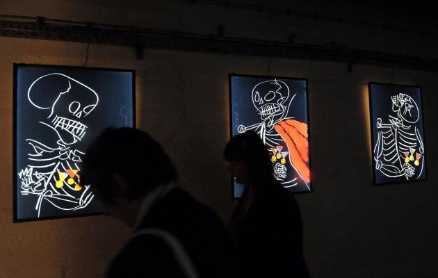 vtoraya biennale sovremennogo iskusstva startovala v bosniiskom atomnom bomboubejishe Вторая биеннале современного искусства стартовала в боснийском атомном бомбоубежище