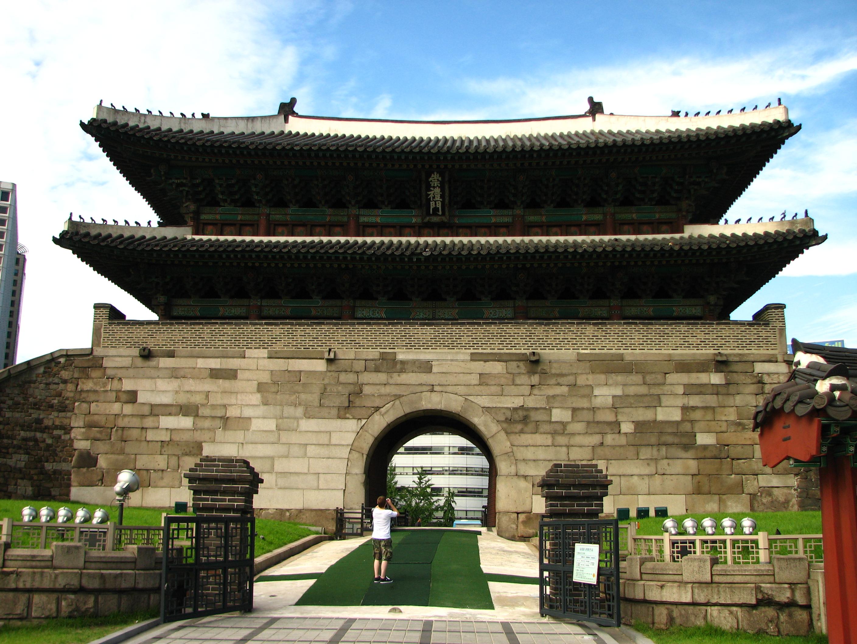 yujnye vorota v seule vozrodilis iz pepla Южные ворота в Сеуле возродились из пепла