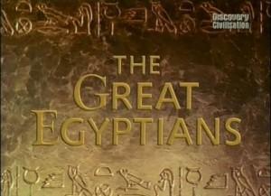 discoverygreat egyptians 300x217 Великие Египтяне (The Great Egyptians) (6 серий)