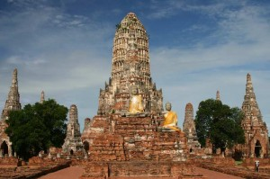 hram chaivatthanaram 300x199 Аюттхая   древняя столица Сиама