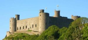 harlech castle 300x138 Гвинед   Валлийские замки Эдуарда Первого