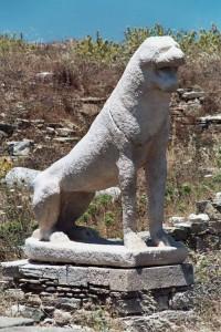delos lions 200x300 Делос   остров божественного света