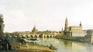 dresden 1748 300x167 Дрезден и Эльба   саксонский канал