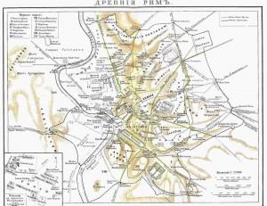 karta drevnego rima 300x231 Древний Рим