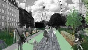 samyi bolshoi batut poyavitsya v londone i stanet novoi formoi obshestvennogo transporta Самый большой батут появится в Лондоне и станет новой формой общественного транспорта