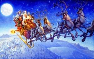 santa klaus pobyval v rossii Санта Клаус побывал в России