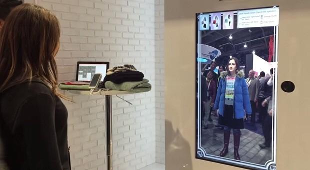 Toshiba sozdala virtualnuyu garderobnuyu Toshiba создала виртуальную гардеробную